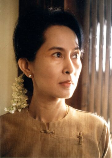 Image result for young aung san suu kyi