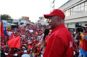 Former Governor Luis Reyes Reyes, candidate of PSUV-GPP for Lara