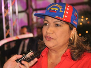 Yelitza Santaella, candidate of the PSUV-GPP for Monagas