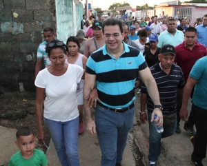 "Incumbent Monagas Governor Jose Gregorio ""El gato"" Briceño, independent candidate for re-election. He's supported by"