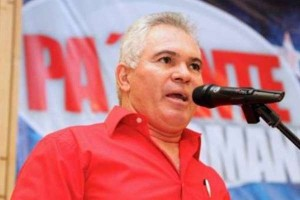 Former Defense Minister Carlos Mata Figueroa, candidate of the PSUV-GPP for Nueva Esparta