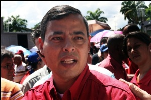 Incumbent Governor Rafael Isea, who's not seeking re-election