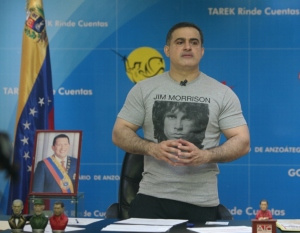 Anzoátegui Governor Tarek William Saab, not seeking re-election