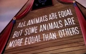 all_animals_are_equal_but_some_animals_are_more_equal_than_others-e1349547350196