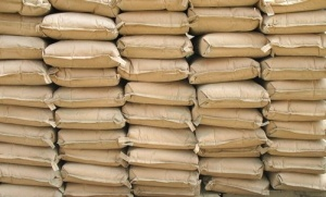Bags of cement: An item reserved for well-connected or lucky