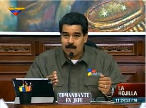 Maduro es Comandante en Jefe 21Mayo2013