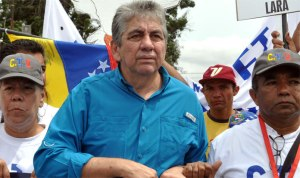 National Assembly Deputy Alfredo Ramos, candidate of the MUD