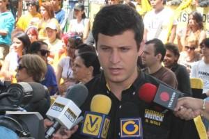 Elías Sayegh, candidate of Primero Justicia.