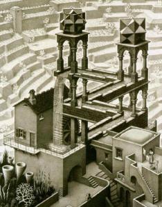 El Nuevo Min Po Po Economía Popular, M.C. Escher