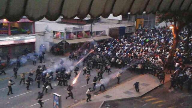 Plaza Altamira, February 15