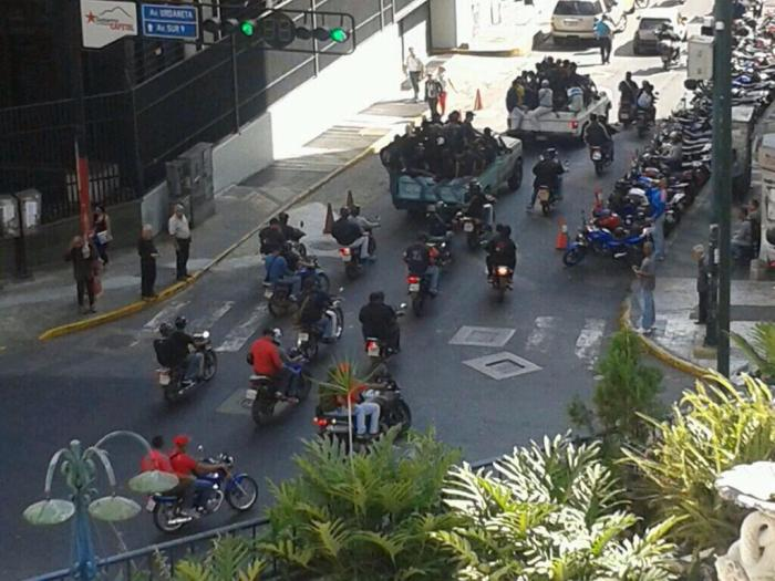 Attacks on Caracas protest