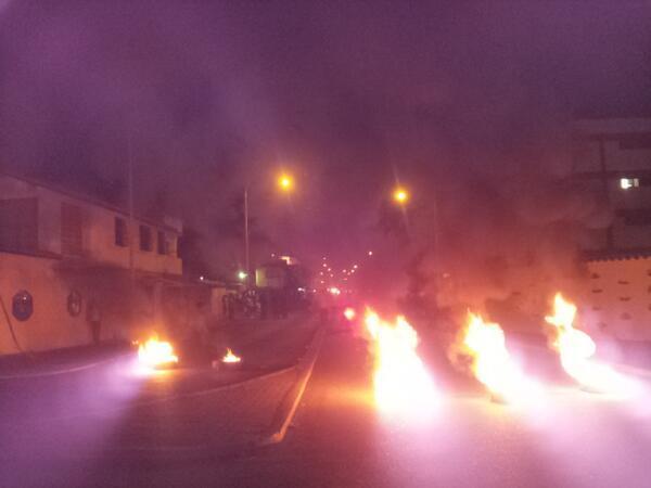 Streets of Mérida, around 9:00 p.m.