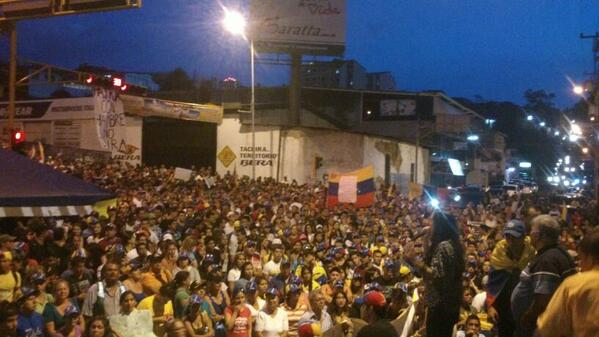 Assembly in San Cristóbal, Táchira, 7:30 p.m.