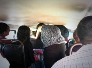 "What passes for ""public transportation system"" in Venezuela."