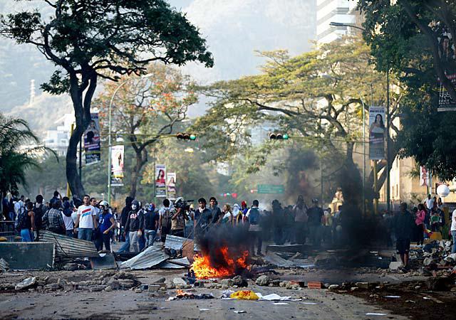 venezuela-guarimba