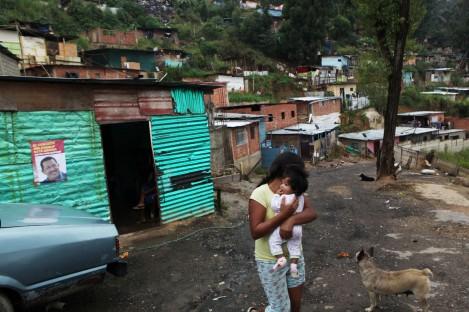 VENEZUELA-ELEC BARRIOS DIVIDIDOS