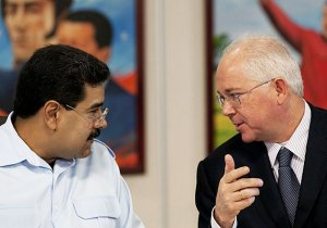 One of these men controls Venezuela. The other used to be a bus driver.