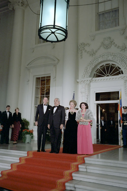 Luis Herrera Campins, and a State dinner at the White House