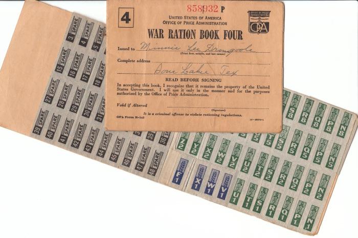 war-ration-books