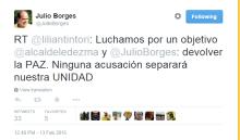 Borges tweet