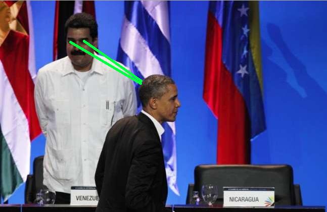 Maduro Obama