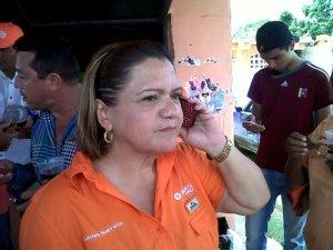 La alcaldesa de Páez Guasdualito municipio Paez Alto apure vp Lumay Barreto fue electa el pasado 08 de diciembre de 2013