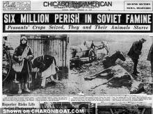 Ukraine six million perish headline