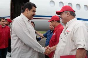 VENEZUELA--Eulogio-del-Pino-asume-Ministerio-del-Poder-Popular-para-Energ-iacute-a-y-Petr-oacute-leo-shaune-fraser-Olimpic-Swimmer-Cayman-Island